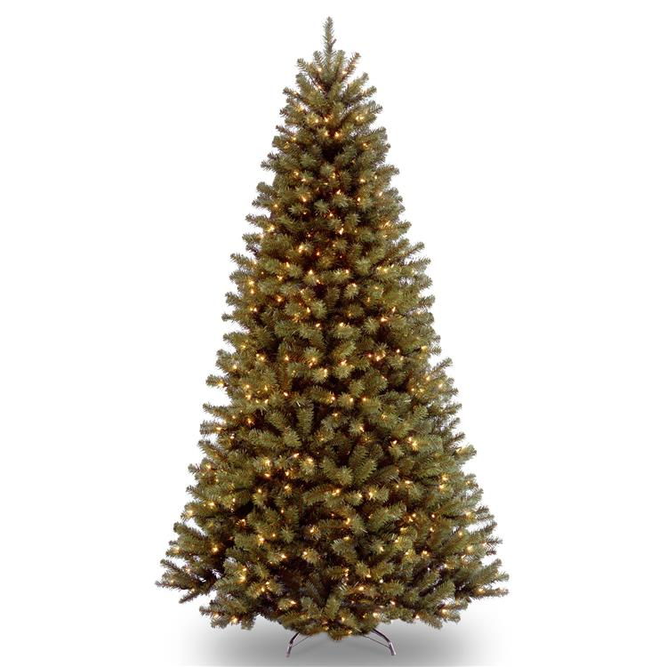 National Tree North Valley(R) Spruce Tree with Clear Lights [Item # NRV7-300-90]
