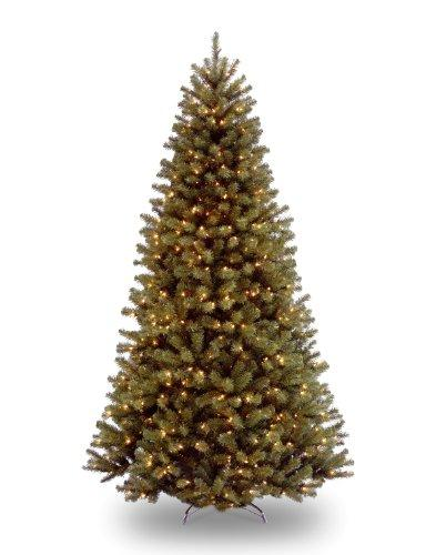 National Tree North Valley Spruce Tree with Dual Color LED Lights