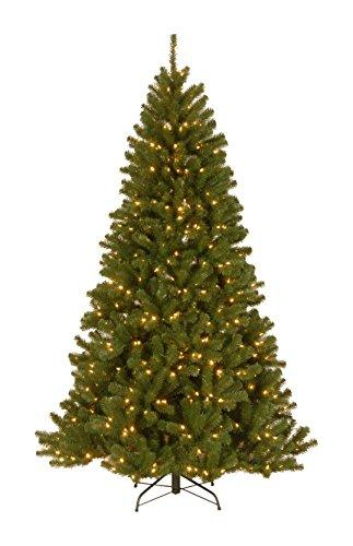 National Tree PowerConnect North Valley Spruce Tree with Dual Color LED Lights