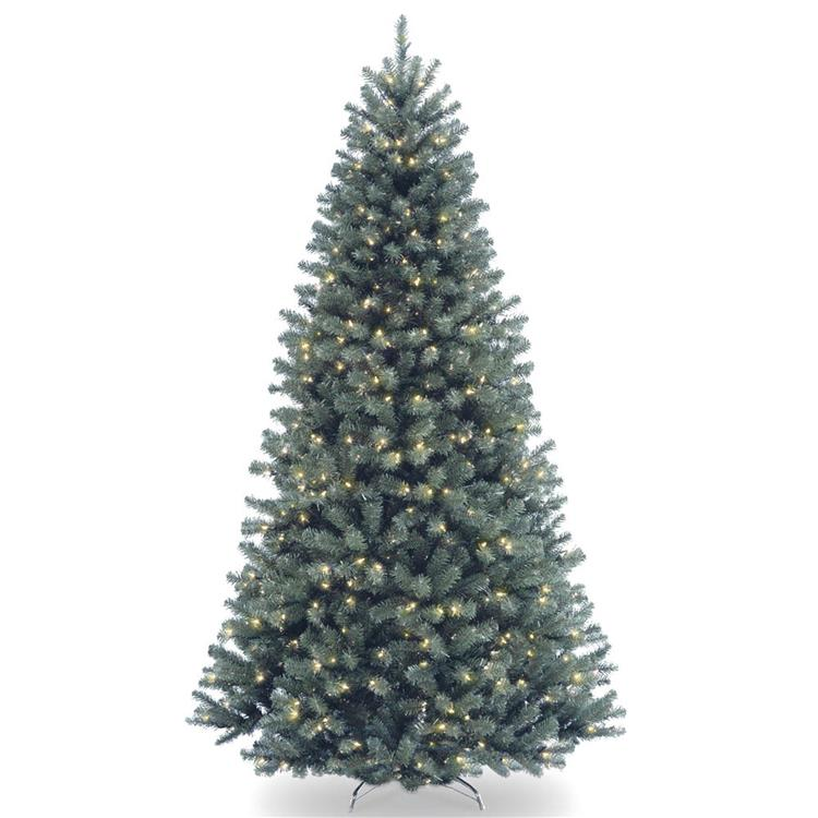 National Tree North Valley(R) Blue Spruce Tree with Clear Lights [Item # NRVB7-306-75]