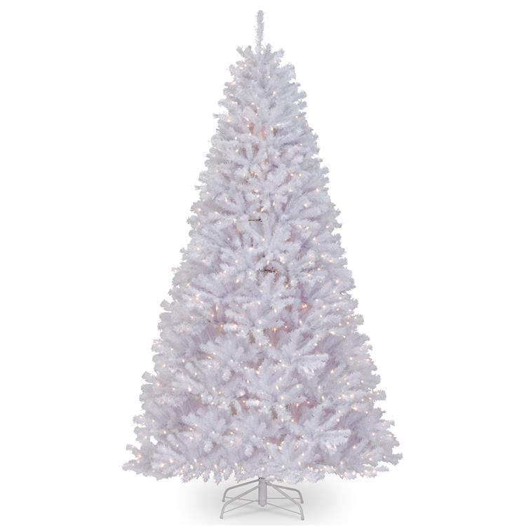 National Tree North Valley(R) White Spruce Tree with Clear Lights [Item # NRVW7-302-90]