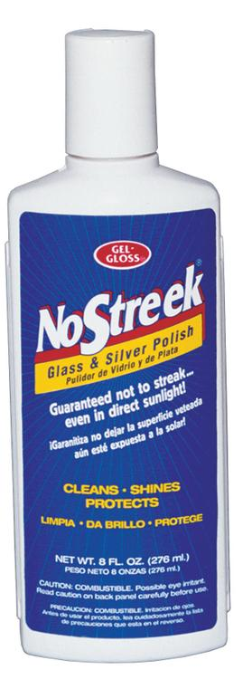 Ns-8 Glass Polish 8Oz Nostreak