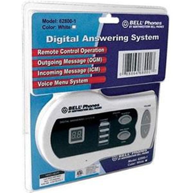 Digital Answering Machine 13MIN WHITE