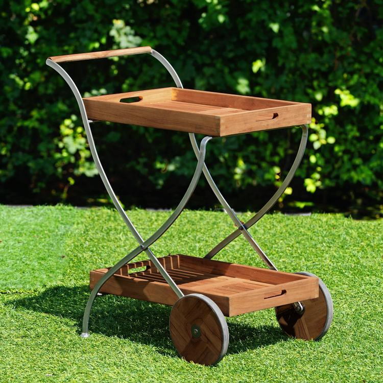 Lucia Outdoor Serving Cart