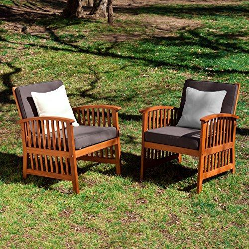 Catania Outdoor Armchairs Set