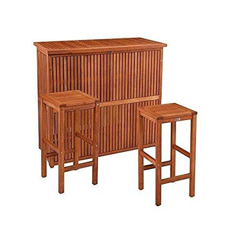 Trinidad Outdoor Barstools Set