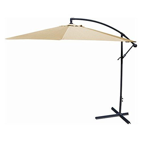 10FT Offset Umbrella in Khaki