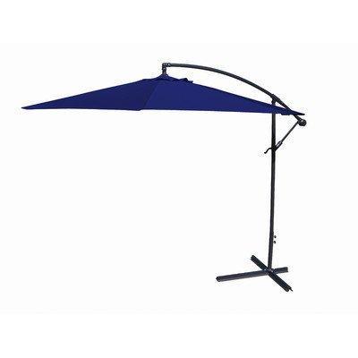 10FT Offset Umbrella in Navy