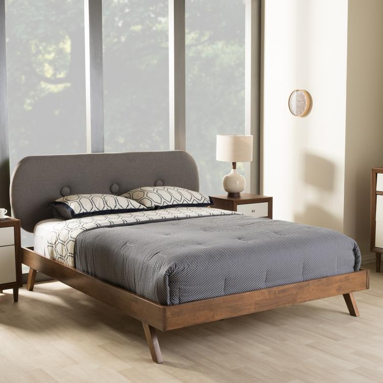 Baxton Studio Penelope Platform Bed [Item # OJC-7109]