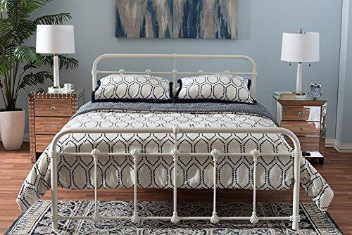 Baxton Studio Mandy Industrial Style Platform Bed [Item # OJC-7397]