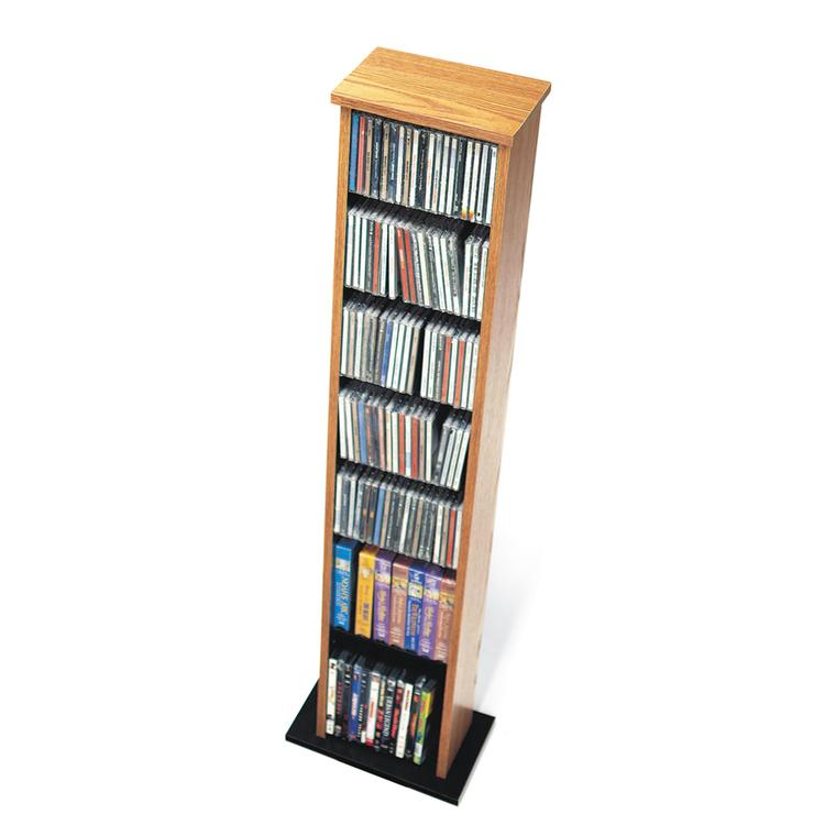 Slim Multimedia Storage Tower