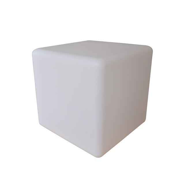ORE 20-Inch Tall Led Multi-Color Cube Lamp