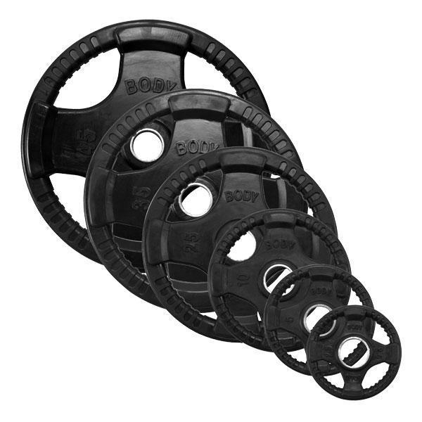 Body Solid Rubber Grip Olympic Plates