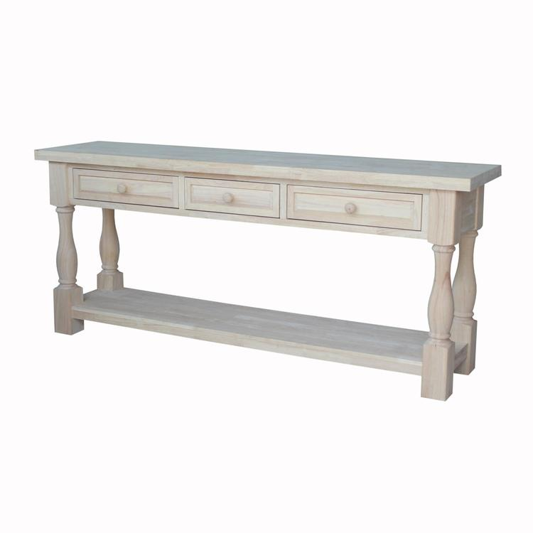 International Concepts Tuscan Console Table