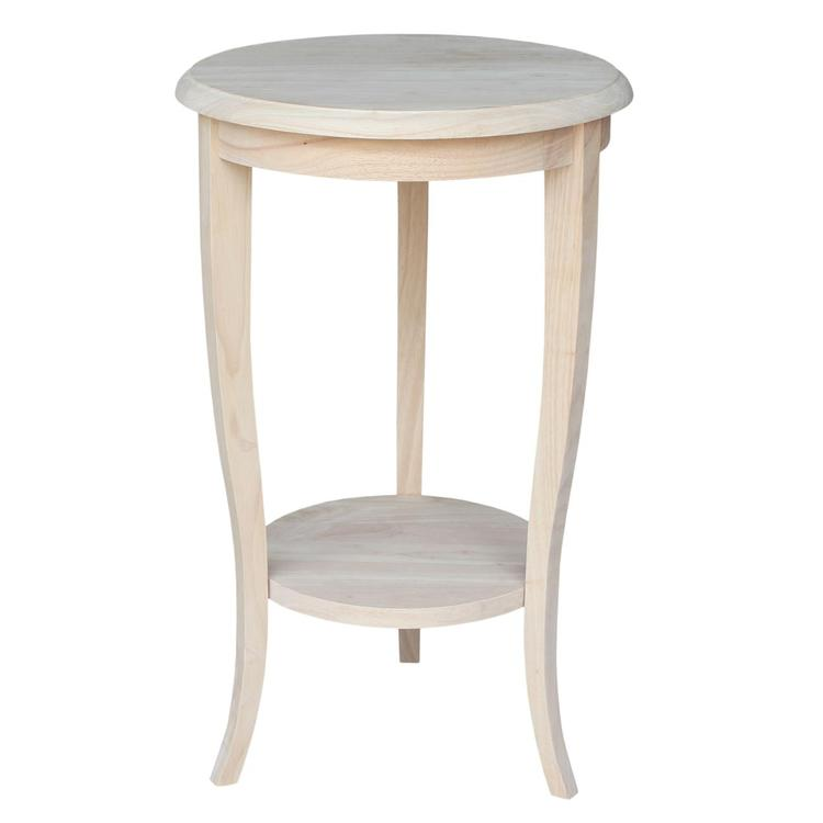 International Concepts Cambria Round End Table
