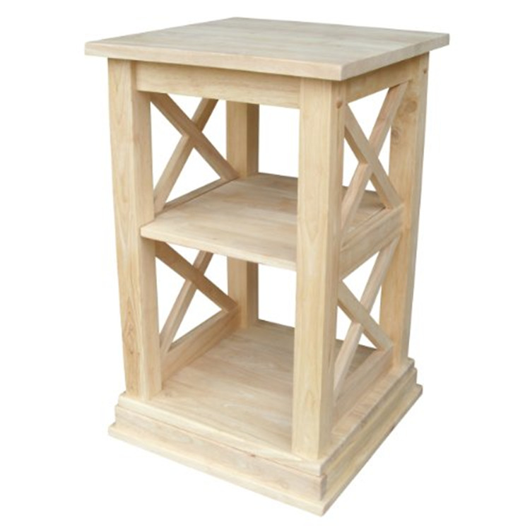International Concepts Hampton Accent Table With Shelves [Item # OT-70A]