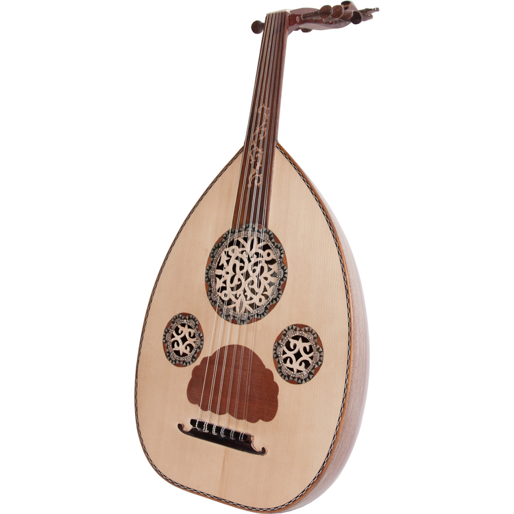 Mid-East Deluxe Egyptian Oud w/ Gig Bag *Blemished