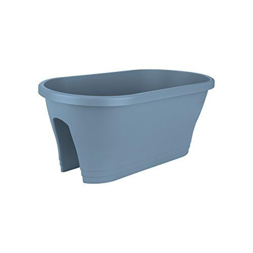 Corsica Flower Bridge planters - Oval Vintage Blue