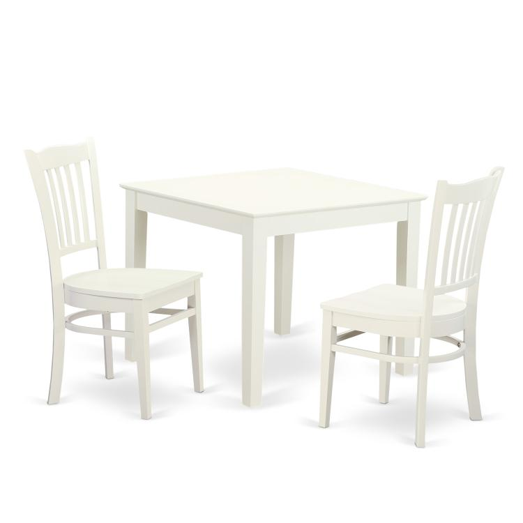 East West Furniture Table And Chairs Set