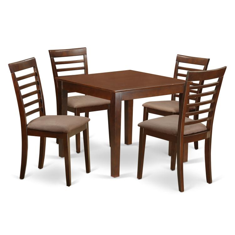 Kitchen Dinette Set - With A Dining Table And Dining Chairs