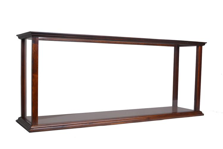 Old Modern Handicrafts Display Case for Cruise Liner Midsize Classic Brown