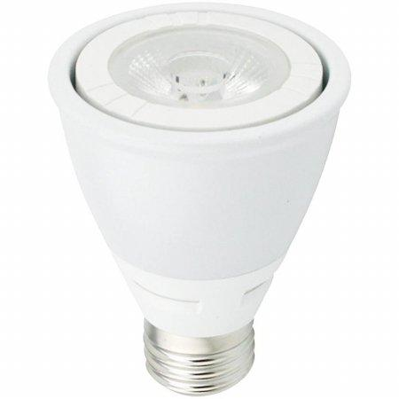 LED COBPAR20 120V 8W 3000K  35° Dimmable white