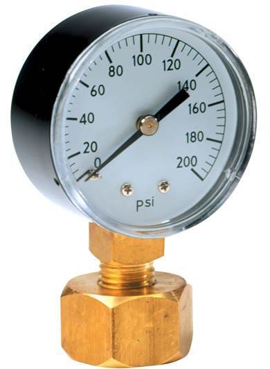 P2A Gauge Pressure