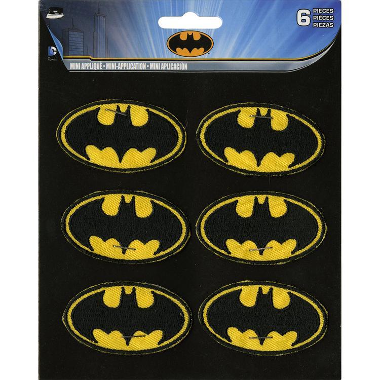 DC Comics Patch-Batman Insignia 6/Pkg 2