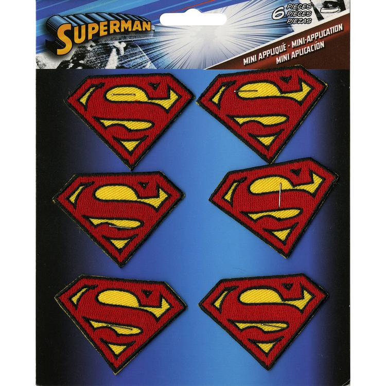 DC Comics Patch-Superman Insignia 6/Pkg 2