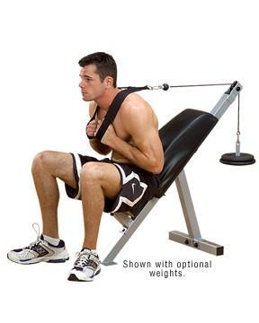Body Solid Powerline Ab Bench