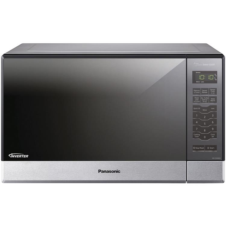 Panasonic 1.2 Cu. Ft. 1200W Genius Sensor Countertop/Built-In Microwave Oven with Inverter Technology