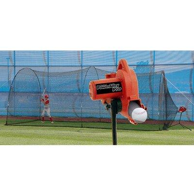 Heater Sports PowerAlley Pro Real Ball Machine & PowerAlley 22' Cage