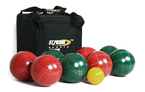 St. Pierre Professional Bocce Set in a Nylon Bag (107mm) by St.Pierre