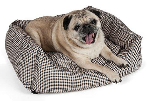 Wick-Away Nano-Silver and Anti-Bacterial Water Resistant Rectangular Dog Bed [Item # PB2BBMD]