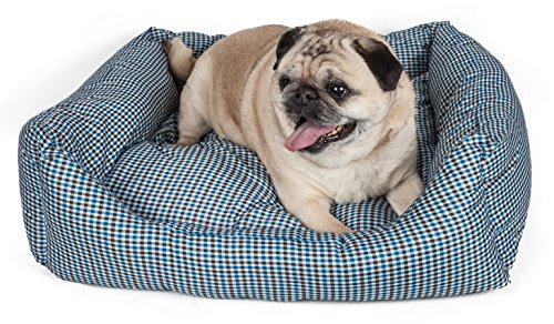 Wick-Away Nano-Silver and Anti-Bacterial Water Resistant Rectangular Dog Bed