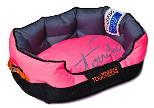 Touchdog Performance-Max Sporty Comfort Cushioned Dog Bed [Item # PB38PKLG]