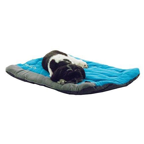 Helios Combat-Terrain Outdoor Cordura-Nyco Travel Folding Dog Bed [Item # PB47BLMD]