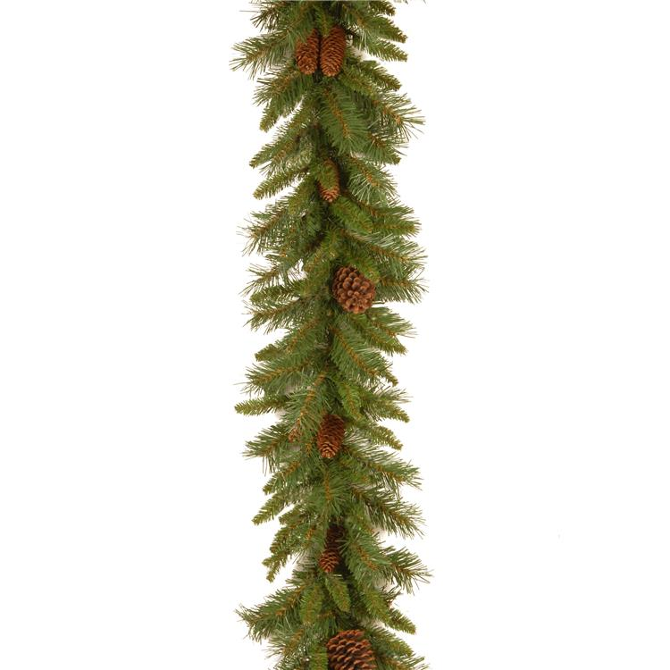 National Tree 9 ft Pine Cone Garland [Item # PC-9G-1]