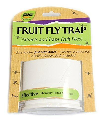 PIC FFT White Fruit Fly Trap