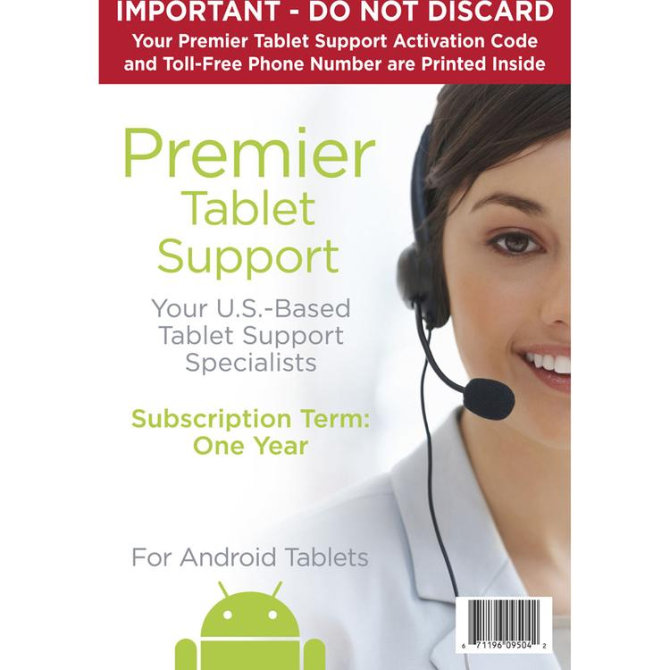 Premier Tablet Support One-Year Subscription