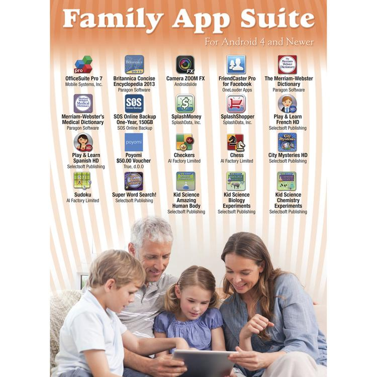 Family App Suite Software