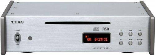 TEAC CD Player With High Resolution Audio Silver
