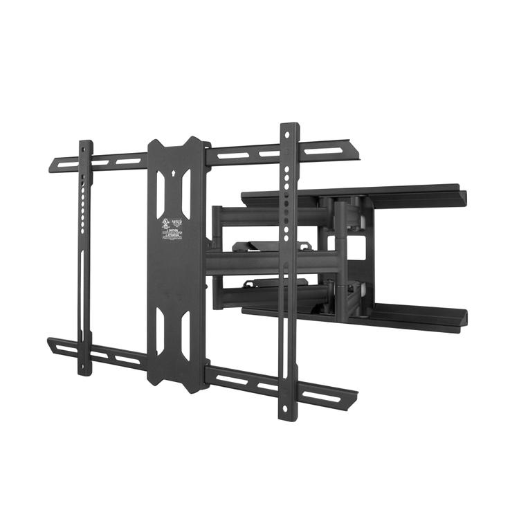 Kanto PDX660 Full Motion Mount for 37-inch to 75-inch TVs - Black