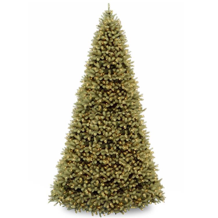National Tree Downswept Douglas(R) Fir Tree with Clear Lights [Item # PEDD1-312-120]