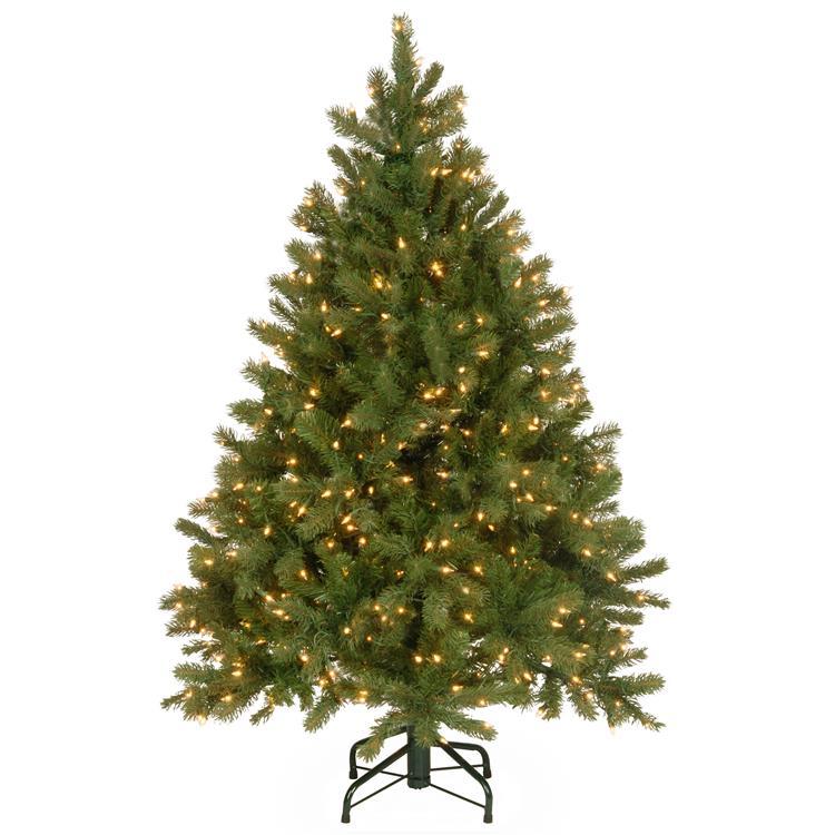 National Tree Downswept Douglas(R) Fir Tree with Clear Lights [Item # PEDD1-312-45]