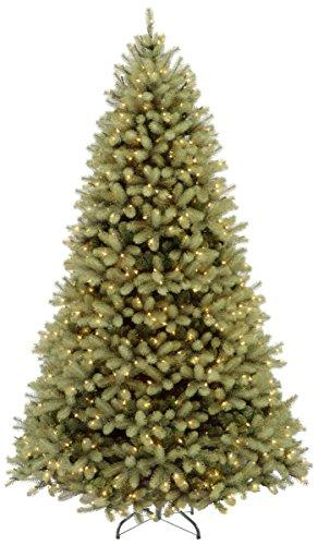 National Tree Downswept Douglas Fir Tree with 900 Dual LED Lights and On/Off Switch