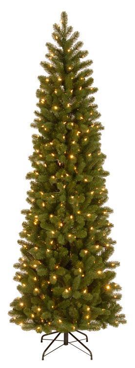 National Tree 9' Douglas Fir Pencil Slim Tree [Item # PEDD4-392D-65]