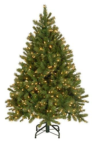 National Tree Downswept Douglas Fir Tree with Dual Color LED Lights