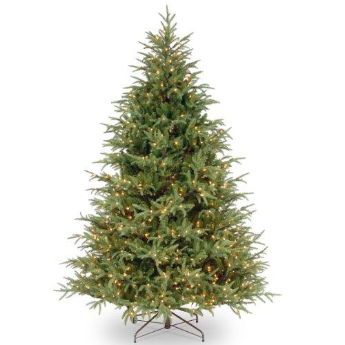 National Tree Frasier Grande Tree with Clear Lights