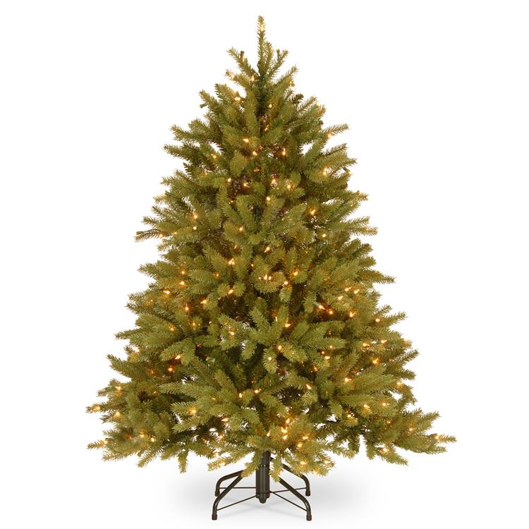 National Tree Jersey Fraser Fir Tree with Clear Lights [Item # PEJF1-300-45]